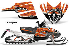 AMR SLED STICKER KIT M8 M7 ARCTIC CAT M CROSSFIRE SNOWMOBILE GRAPHIC REAPER ORNG
