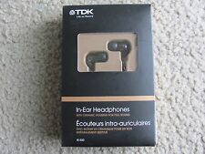 Brand New TDK IE-500 In-Ear Headphones with ceramic housing for full sound