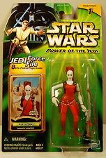 Aurra Sing Bounty Hunter POTJ Power Of The Jedi Green Card Star Wars