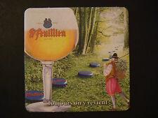 Beer Coaster: Brouwerij St FEUILLIEN Abdijbier ~*~ Le Roeulx, Belgium ~ Toujours