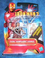 WHIPLASH IRON MAN 2 MARVEL UNIVERSE AVENGERS TONY STARK ENEMY IVAN VANKO LEGENDS