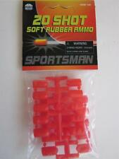 new SOFT RUBBER AMMO Bullet #916 for TOY pistol air gun EDISON GIOCATTOLI Parris