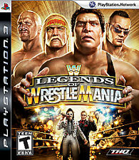 WWE Legends of WrestleMania (Sony PlayStation 3, 2009)