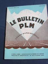 bulletin PLM 1933 25 VILLENEUVE SAINT GEORGE TRIAGE PRAIRIE voiture salon
