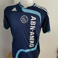 maillot  de football ajax d'amsterdam   taille 16 ans  ADIDAS 2007 foot