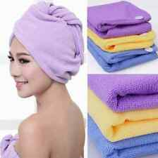 FD719 Microfiber Bath Bathing Quick Dry Hair Magic Drying Turban Wrap Towel Hat
