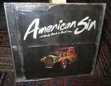 AMERICAN SIN: ONLY ROCK N ROLL MUSIC CD, 4 TRACKS, AMERICAN SIN BAND, GUC