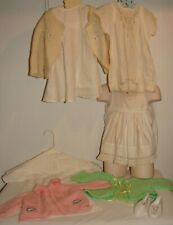 Vintage Girl Child Clothes Lot Good for Dress of Companion Dolls + Shoes