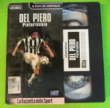 film VHS ALEX DEL PIERO PINTURICCHIO Gazzetta dello Sport 8 2001 (F107) no dvd