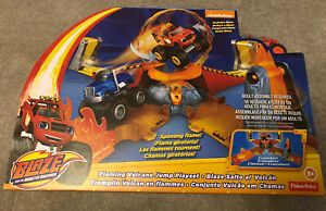 Blaze and the monster machines flaming volcano jump playset Fisher-Price RRP £50