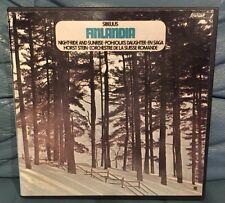 Horst Stein / Sibelius Finlandia-Pohjola's Daughter-En Saga Reel Tape Ampex