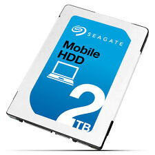 "Seagate Laptop Thin HDD 2TB 2.5"""" 6Gb/s SATA ST2000LM007"