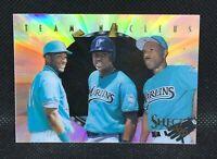 1996 Select Team Nucleus Gary Sheffield Johnson Andre Dawson HOF MINT Marlines