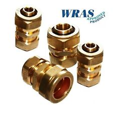 16mm Pex Al Pex to 15mm Copper Adaptors -Pack of 4 -WRAS APPROVED-F1-S1216x15Cu2