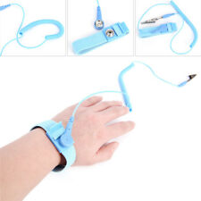 2pcs anti-static ESD sangle antistatique de mise à la terre bracelet poignet