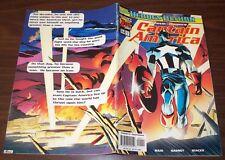 Captain America #468 Vol3 #1 vs Lady Deathstrike from Jan. 1998 in VG/F Avengers