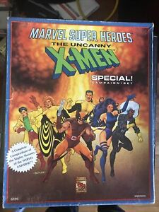 Marvel Super Heroes Rpg Uncanny X-men Special Campaign Set