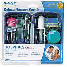 Safety 1st DELUXE NURSERY 7-piece Complete Health Care Kit GROOMING BABY INFANT