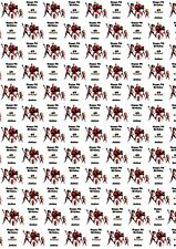 Personalised Incredibles Birthday Wrapping Paper