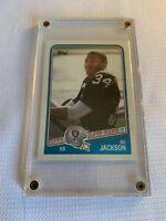 Bo Jackson 1988 Topps #327 Rookie Card Los Angeles Raiders NFL Football