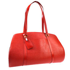 LOUIS VUITTON SOLFERINO GM SHOULDER TRAVEL BAG RED EPI M42857 AK44252