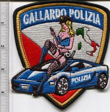 New Italian Police Uniform Lamborghini Gallardo Patch