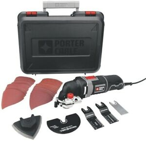 PORTER-CABLE Oscillating Tool Kit with 31-Piece Accessories, 3-Amp (PCE605K)