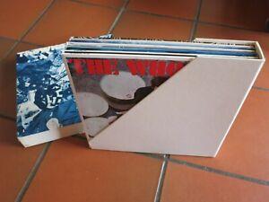THE WHO - PHASES - Coffret VINYL 11 LP's - 1981 - Édition limitée
