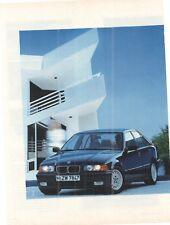 BMW - 3er -   -  Werbeseite - alte Annonce - Reklame -
