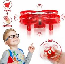 Flying Toy Drone for Kids, Hand Operated Mini Drone Gift (random color)