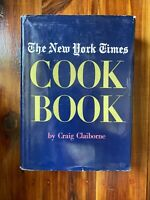 New York Times Cookbook 1961 Craig Claiborne Hardcover Cook Book Vintage Recipe