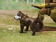 Hood Hounds Slugger Pit Bull Dog 1:18 GI Joe Size Cake Topper Figure K1285 W