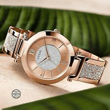 Guess  Uhr Damenuhr W1288L3 Aurora  Swarovski Cristals Edelstahl  IP-rose neu