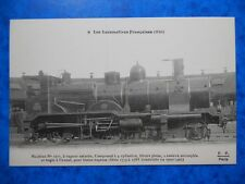 MACHINE N°1777 pour trains Express. Construite en 1900-1901.  (Midi)