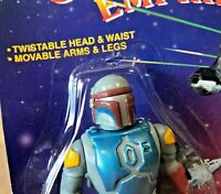 VINTAGE BOBA FETT 6 INCH KO ACTION FIGURE GALAXY EMPIRE STAR WARS BOOTLEG MOC!!!