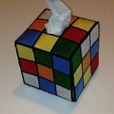 Rubiks Cube Tissue Box Big Bang Theory
