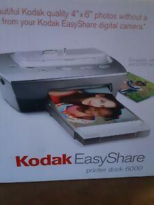 Kodak EasyShare Photo Printer dock 6000. NIB