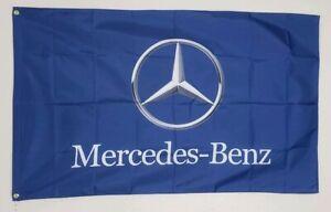 Mercedes Benz Banner 3x5 Ft Flag Car Show Garage Wall Decor Gift C E S Class