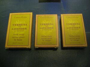 2 x Verbena and Lavender Facial Soaps and 1 x Verbena and Lavender Bath Soap