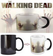 US The Walking Dead Ceramic Coffee Tea Mug Heat Sensitive Zombie Color Changing