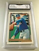 RICH GOSSAGE (HOF) 1992 Topps GOLD WINNER #215 GMA Graded 10 Gem Mint