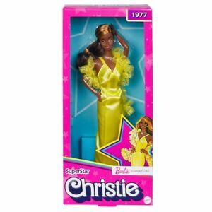 Barbie Signature 1977 Superstar Christie Collector Doll **Super Hard To Get**