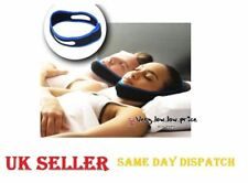 New Anti Snoring Chin Strap Belt Stop Snore Device Apnea Jaw Support Solution UK