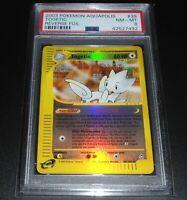 PSA 8 NM-MINT Togetic 39/147 Aquapolis Set REVERSE HOLO Pokemon Card