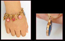 Sailor Moon 20th Anniversary 18K Gold Plate Bracelet in Gift Box & Card Sticker