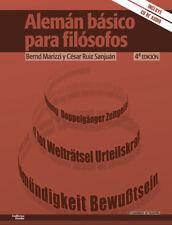 ALEMÁN BÁSICO PARA FILÓSOFOS. NUEVO. Nacional URGENTE/Internac. económico. FILOS