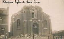 POSTCARD  MILITARY WWI  VALENCIENNE  Ruin  Church