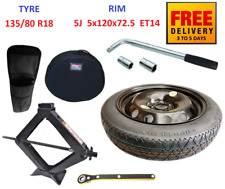 Space Saver Spare Tyre & Wheel with full package for BMW X3 F25 (2010-2019)
