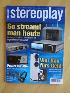 Zeitschrift Stereoplay - 7/2021 (Juli) - Die technische Dimension von HiFi
