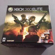Xbox 360 Elite Resident Evil 5 Limited Edition Elite 120 GB Red System Bundle